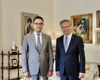 Ambassador Waissi called on HE the Hon Hieu Van Le AC, Governor of SA in Adelaide