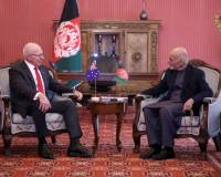 Afghan President Received Australian Governor-General at Presidential Palace
