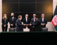 The Afghan Government and the Australian company signed 5 MoUs