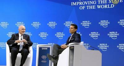 A conversation with President Ashraf Ghani at the World Economic Forum 2019