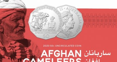 A Tribute to Afghan Cameleers by the Royal Australian Mint
