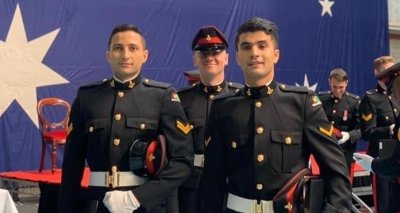 Two More Afghan Cadets Successfully Completed their Studies at RMC-Duntroon