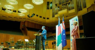 Transcript of Ambassador Waissi's Speech at the Sydney Opera House