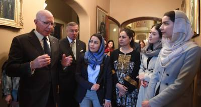 Afghan Women Delegation's meet with the Governor of the New South Wales
