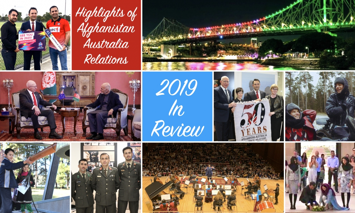 Highlights of Afghan-Australian Relations in 2019
