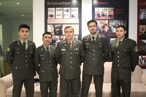 Afghan Cadets Farewell||