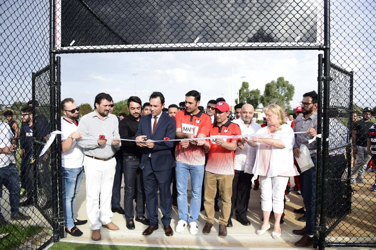 Mohammad Nabi Launches his International Cricket Academy in Melbourne